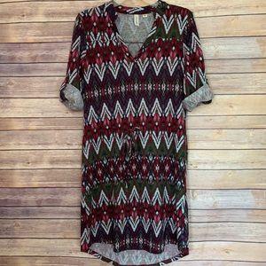 Tacera Casual Dress Size Small